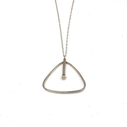 Daphne & Molly Triangle Geo necklace
